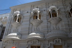North-Indian Style architecture (VinayakH) Tags: india religious temple delhi hindu hinduism chattarpur katyayani
