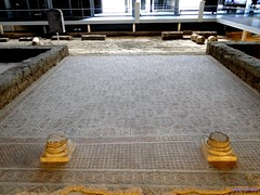 Villa romana de la Olmeda (santiagolopezpastor) Tags: espaa spain roman mosaic mosaics mosaico romano espagne romanempire castilla palencia castillaylen mosaicos provinciadepalencia