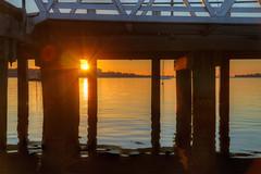 Hastings Sunrise (Thunder1203) Tags: sea canon harbour au australia victoria coastal hastings hdr westernportbay canoneos5dmarkiii sunrisehastingsmarinathunder1203