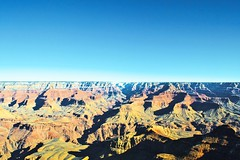 Grand Canyon (DavidAvila Photography) Tags: park sky mountains colors skyline photography nikon warm shadows state bright united nevada grand canyon ombre fade balance states borderline d3100