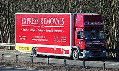 DAF LF - EXPRESS REMOVALS UK (scotrailm 63A) Tags: trucks removals lorries