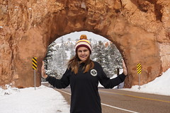 """""""Open Sesame!"""" (chad_shahin) Tags: utah tunnel bryce forcedperspective redcanyon"""