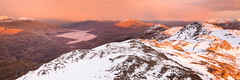 Loch Quoich (svensl) Tags: winter walking scotland highlands hiking scottish loch nan schottland knoydart quoich sgurr eugallt