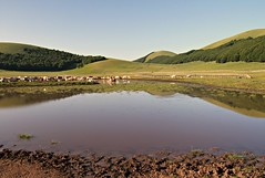 (claudiophoto) Tags: lake landscapes riflessi pantani sibillini parconazionale montisibillini riflections sibillininationalpark laghidimontagna