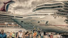 Running of the Tourist (Robert Streithorst) Tags: cruise family conquest 2016 cozumel robert streithorst