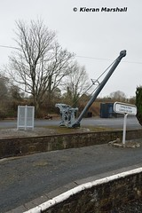 Carrick-on-Suir, 10/4/16 (hurricanemk1c) Tags: irish train crane rail railway trains railways irishrail itg 2016 carrickonsuir iarnród éireann iarnródéireann irishtractiongroup storeddiesels