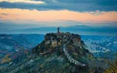 The Dying Town (Edoardo Angelucci) Tags: sunset italy mountain zeiss landscape photography tramonto sony valley alpha edoardo lazio civita civitadibagnoregio etruscans mirrorless angelucci ilce7m2 a7mii fe1635f4za geo:lat=42625858 geo:lon=12105668