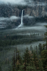 BridalViel Fall D75_1905 (steve bond Photog) Tags: fog waterfall yosemite yosemitenationalpark bridalveilfall