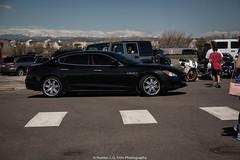 Sedan (Hunter J. G. Frim Photography) Tags: black sedan italian colorado turbo supercar maserati qp v6 maseratiquattroporte quattroporte