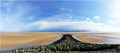 North coast of the Gower peninsular and Burry estuary (iandavies971) Tags: gower sandbanks