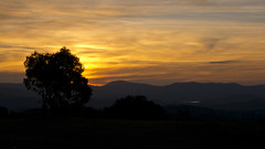 Sunset from Mt Taylor (maerphoto) Tags: sunset sky night stars mt taylor canberra act