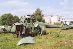Mil Mi-4 Hound (Angle-of-Attack) Tags: 2005 russia hound mil mi4 chernoye 46yellow