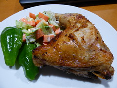 Air oven cooking (Sandy Austin) Tags: newzealand chicken cooking salad sheffield auckland northisland homecooking chillies massey westauckland sandyaustin airfryer panasoniclumixdmcfz70 airoven