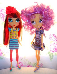 Dee & Tylie (Bridget_John316) Tags: monster high stacie dress dee ladeeda tylie
