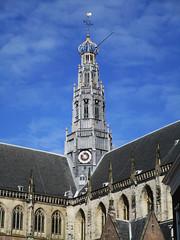 Haarlem toren H.Bavo basiliek (Arthur-A) Tags: church haarlem netherlands nederland kirche kerk eglise protestant basilika bavo basiliek