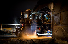 Bed time (michaelgreenhill) Tags: night au australia trains victoria steam pbr belgrave climax puffingbilly 1694