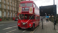 AEC Routemaster RM1620 (Elite Transport Photos) Tags: wedding red bus london liverpool icon routemaster limestreet aec