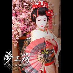 G2-08999-03 (yumekoubou makeorver studio japan) Tags: japan kyoto maiko geiko  photostudio kimono makeover  oiran