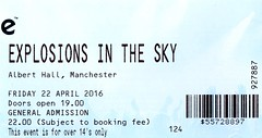 Explosions In The Sky @ Albert Hall, Manchester 22/4/2016 (stillunusual) Tags: uk england music manchester concert live gig livemusic ticket alberthall postrock mcr 2016 explosionsinthesky