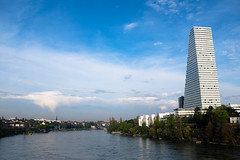 Roche Tower (Oberau-Online) Tags: tower schweiz switzerland basel roche hochhaus basle