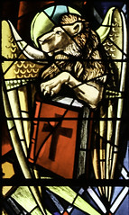 Lion of Saint Mark (Lawrence OP) Tags: sanfrancisco windows church dominican lion saints stainedglass gospel stdominics stmark