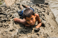 untitled (Towfiq Chowdhury) Tags: boy water children sand winner bangladesh laying
