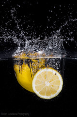 Splash of Lemon (robert.lundskow) Tags: water fruit lemon splash