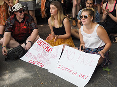 Invasion Day march and rally 2016-1260096.jpg (Leo in Canberra) Tags: march rally protest australia canberra australiaday act indigenous invasionday garemaplace 26january2016 aboriginalandtorresstraightislanders lestweforgetthefrontierwars endtheusalliance closepinegap