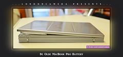 Apple MacBook Pro Swollen Battery (LondonCamera) Tags: apple broken mac laptop battery 2006 pro swollen burst bulging swelling macbook