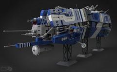 Heart of S'jet (Sunder_59) Tags: ship lego render space military scifi spaceship battleship homeworld spacecraft starship moc battlecruiser blender3d hiigara mecabricks
