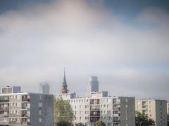 Warsaw view (LAZUR tomek pietek) Tags: old city tower church view towers 8 poland polska spire stare warsaw sw blocks bloki z 80 warszawa axa slabs muranw widok karmelicka w muranow augustyn anielewicza pitra