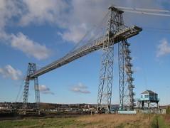 The Newport Transporter Bridge, Wales (kitmasterbloke) Tags: heritage history industry monument wales river outdoor steel engineering cable newport usk edwardian girder gwent manufacturing transporterbridge