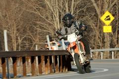KTM 1601310465w (gparet) Tags: road bridge curves scenic motorcycles bearmountain motorcycle overlook windingroad twisties goatpath goattrail