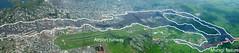 Vista panoramica della colata di lava orientale nella citt di Goma (Repubblica Democratica del Congo) (ingv.pisa) Tags: nyiragongo fessuraeruttiva colatelava