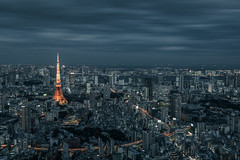 DARK NIGHT (yukinori_hasumi) Tags: japan tokyo hills tokyotower roppongi