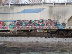 Crow (Swish 1998) Tags: ohio graffiti ra freight ese wh npnr