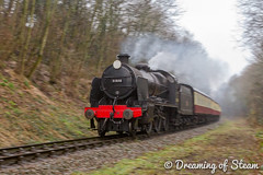 GCR-WINTER-GALA-96 (Steven Reid - Reid Photographic) Tags: railroad heritage train vintage smoke engine railway steam locomotive uboat sr steamengine 260 mogul southernrailway steamlocomotive 2016 greatcentralrailway gcr wintergala 31806 heritagerailways uclass