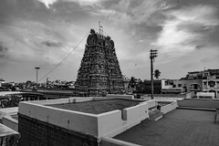 Temple Tower (Padmanabhan Rangarajan) Tags: india festival temple chennai chariot carfestival parthasarathytemple nikond750