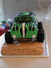 Tylers Birthday Cake 06-Feb-2016 Grave Digger Cake Front View (H20 James) Tags: cake truck gravedigger monstertruck