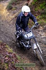 Number 32 White (Norton) (bokosphotos) Tags: norton panasonic trials aldershot hungryhill yearly trialsbikes pre65 motorcycletrials pre65trials talmag panasonicgh3 dmcgh3 1235f28lens talmagtrial2016 hungryhillaldershot