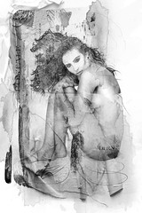 postalnudeB&W (mollsmum) Tags: peru beauty portraits model glamour artistic modeling models highkey brunette fio boudior columbian artisticnudes moodart implieds thecolbyfiles