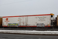 Where is Happy Land? (ryanberrend) Tags: cn reefer canadiannational stevenspoint happyland cryotrans stevenspointwisconsin