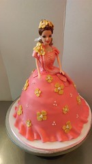 www.cakeamsterdam.com (CAKE Amsterdam - Cakes by ZOBOT) Tags: pink india amsterdam cake gold princess indian barbie taart