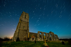 Covehithe Church (Somepeople291) Tags: church stars southwold startrails nightwork covehithe