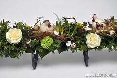 #Kippen op #nest... (floralworkshops) Tags: roos frame keramiek