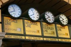 IMG_0628 (Teddy Mafia) Tags: australia melbourne line trainstation flindersstreet belgrave lilydale alamein glenwaverly