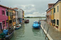 2013.05.25.112 BURANO - le rio Pontinello et l'isola di Torcello au fond (alainmichot93 (Bonjour  tous)) Tags: rio architecture canal bateau venise couleur italie faade venezzia 2013 vntie isoladeburano