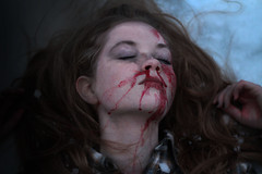 """""""For he loved her so much, he took her breath and made it his own."""" (NolesyReil_) Tags: love broken girl face portraits hair nose death pain blood hands women break faces bruise bleeding dying relationships broke struggle bruises hiddenfaces"""