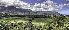 Hanalei Bay Overlook (boysoccer3) Tags: panorama nature hawaii nikon scenic lookout kauai poipu hanalei hanaleibay canon5ds