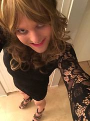 Danielle CD (daniellecd92) Tags: dress feminine cd danielle young fem crossdressing tgirl transgender transvestite heels crossdressers transexual crossdresser crossdress trap tg lbd shemale selfie feminized femboy